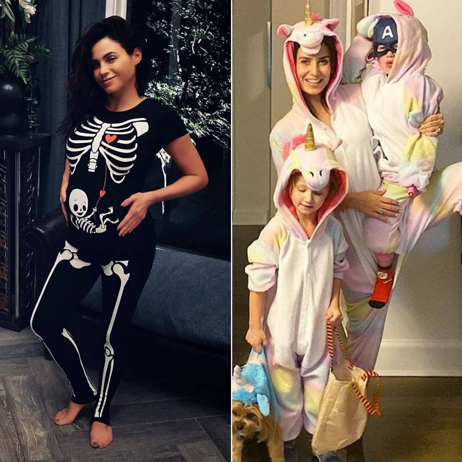 Pregnant Celebs Dressing Up Baby Bumps for Halloween 2019