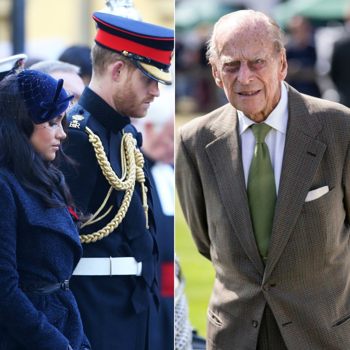 Prince Harry and Duchess Meghan React to Prince Philip's Death
