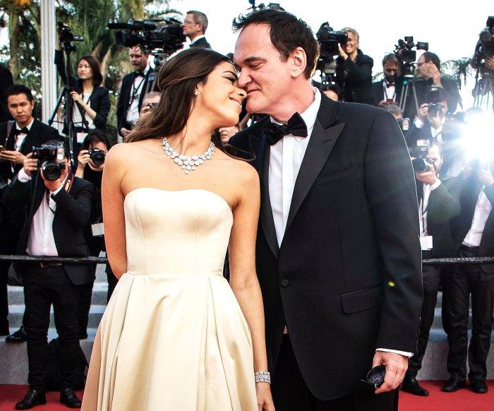 Quentin-Tarantino-Baby-With-Wife-Daniella-Pick