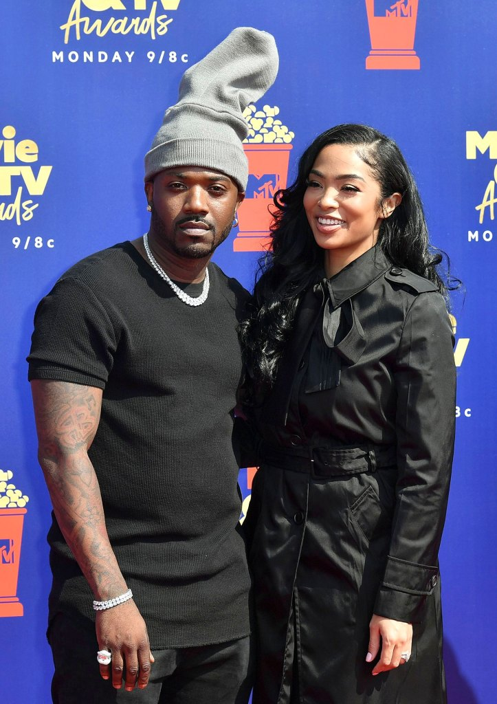 Ray J and Princess Love MTV Movie & TV Awards