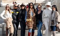 Denise Richards, Lisa Rinna, Teddi Mellencamp, Garcelle Beauvais, Erika Girardi, Dorit Kemsley, Sutton Stracke and Kyle Richards Real Housewives of Beverly Hills Cast Trip to Rome