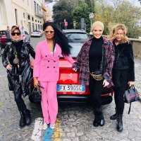 Real Housewives of Beverly Hills Cast Trip to Rome