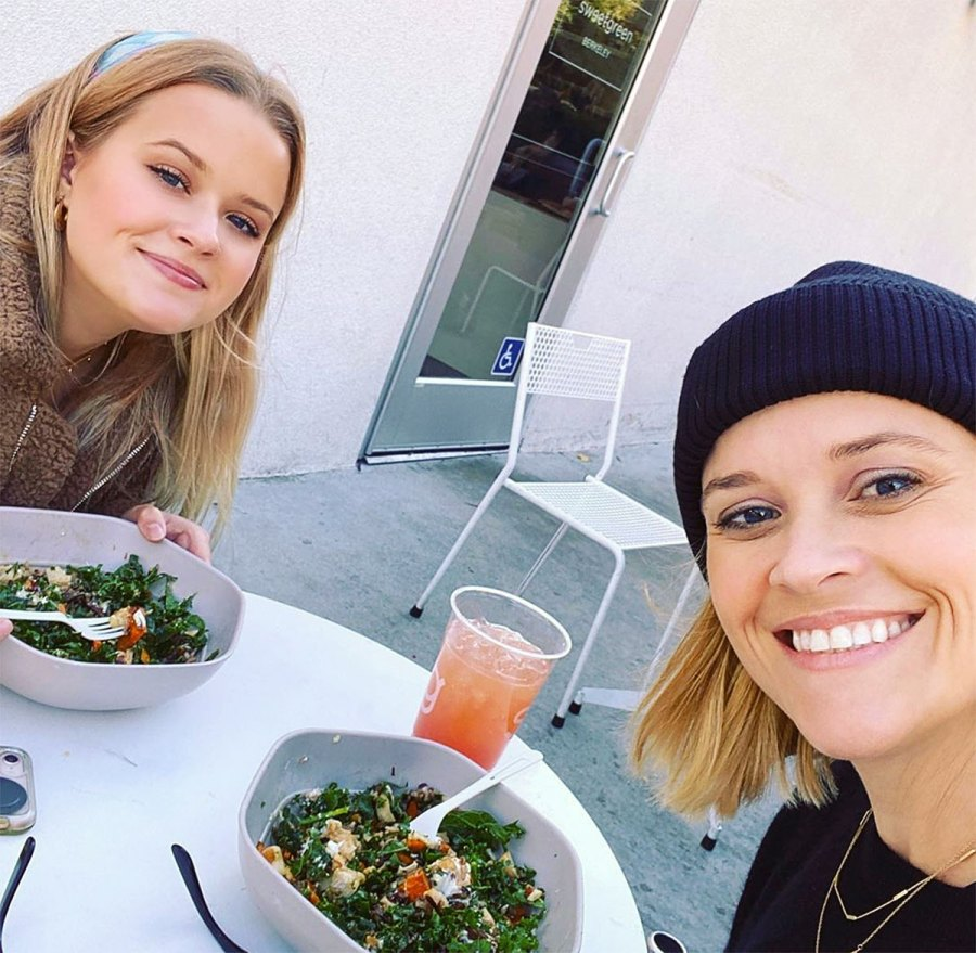 Reese Witherspoon Ava Phillippe Twinning Instagram