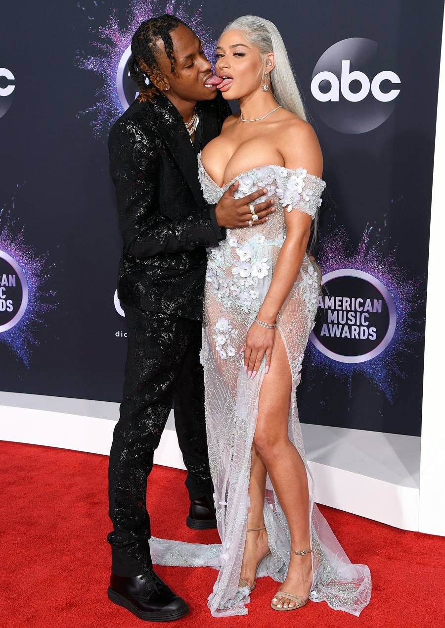 Rich The Kid and Tori Brixx Hottest Couples AMAs 2019