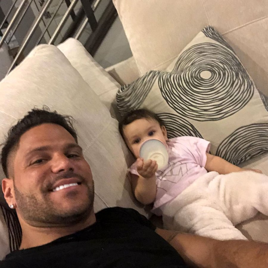Ronnie Ortiz-Magro Shares Photo With Daughter Ariana Amid Protective Order, Court Case