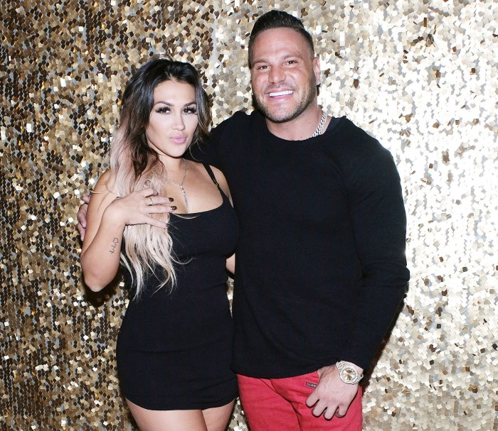 Ronnie Ortiz-Magro and Jen Harley celebrate the launch of Verge CBD Pleads Not Guilty in Domestic Violence Case