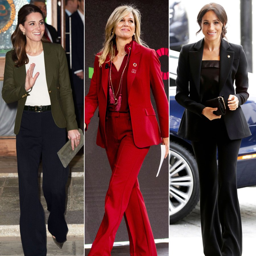 Royals In Pantsuits