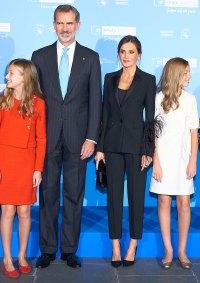 Royals In Pantsuits - Queen Letizia