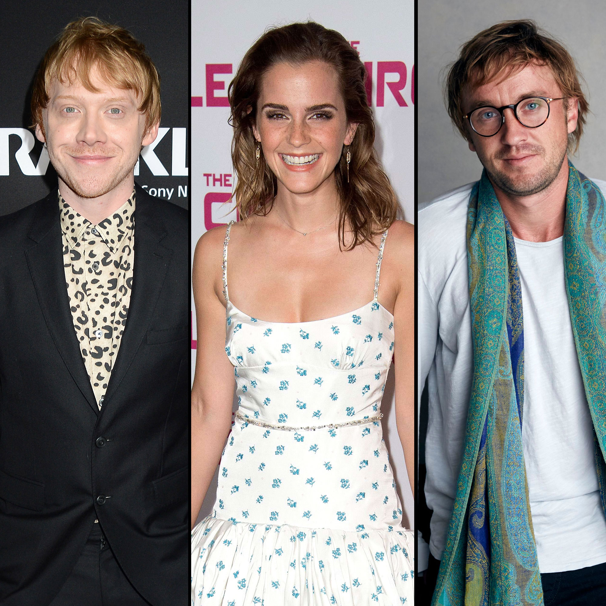 Rupert Grint Says Emma Watson Tom Felton Had Playground Romance