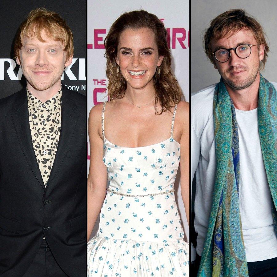 Rupert Grint Says Emma Watson and Tom Felton Had Sparks