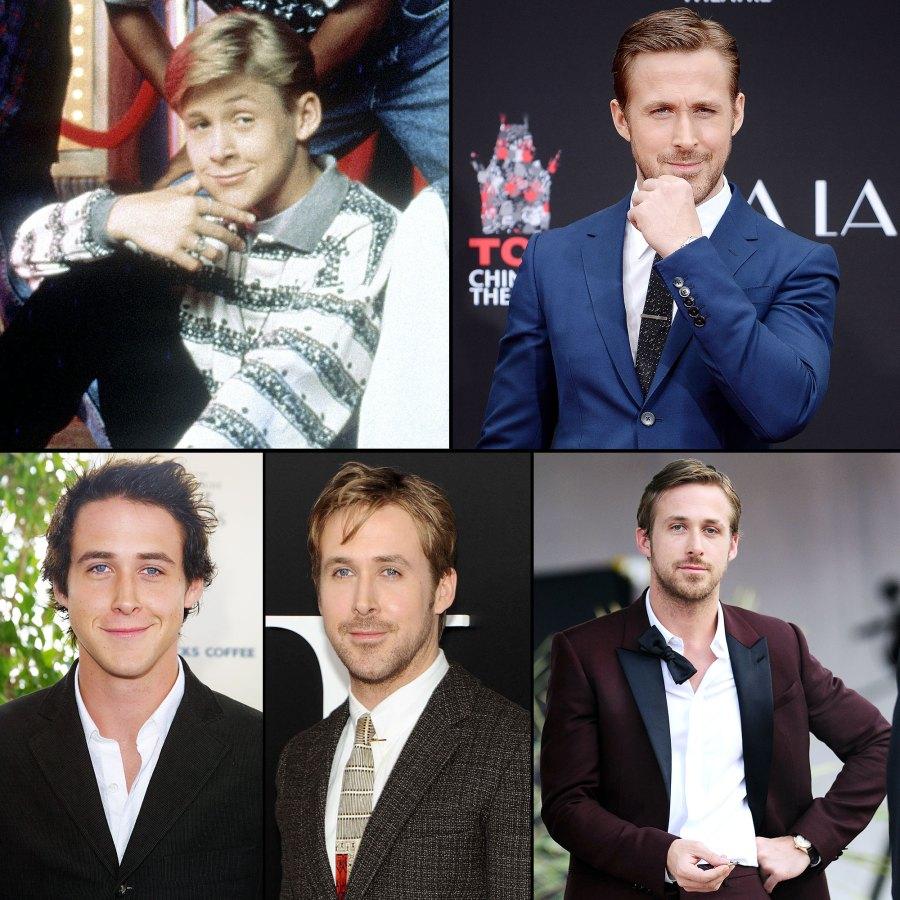 Ryan Gosling Hotness Evolution
