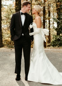 Sadie Robertson and Christian Huff wedding