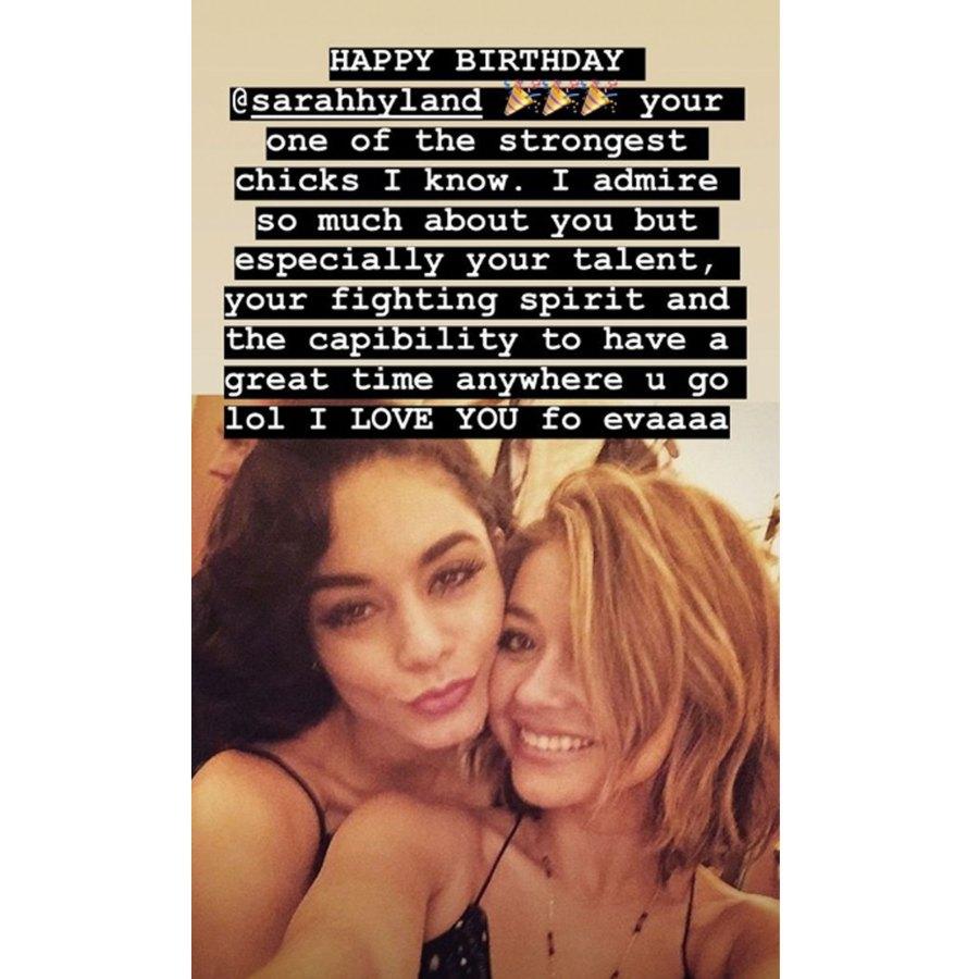 Sarah Hyland's Fiance Wells Adams and Celeb Pals Vanessa Hudgens, Katie Stevens Wish Her a Happy 29th Birthday