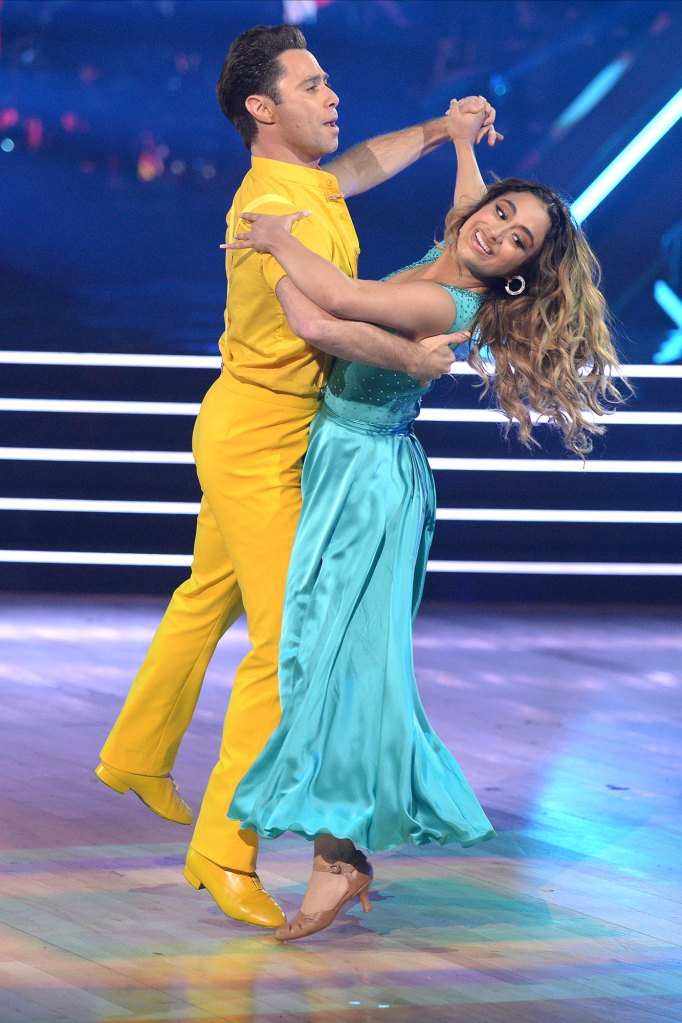 Sasha Farber and Ally Brooke Dancing With The Stars DWTS