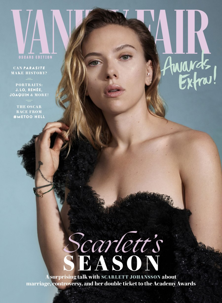 Scarlett Johansson Reflects on Ryan Reynolds, Divorce, Casting Controversies and More in 'Vanity Fair'
