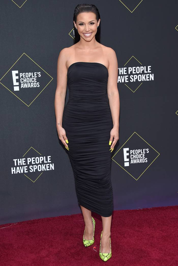 Scheana Shay 2019 People's Choice Awards Red Carpet Dating Personal Trainer Brock Davies