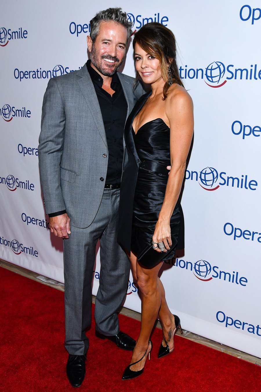 Scott Rigsby and Brooke Burke Red Carpet Debut