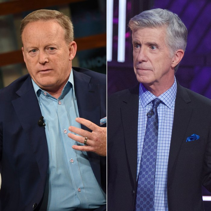 Sean Spicer Didn't Form a Friendship With Tom Bergeron on Dancing with the Stars