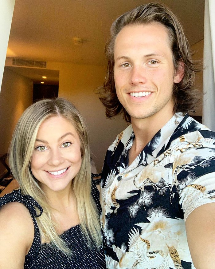 Shawn Johnson East and Andrew East Instagram Selfie