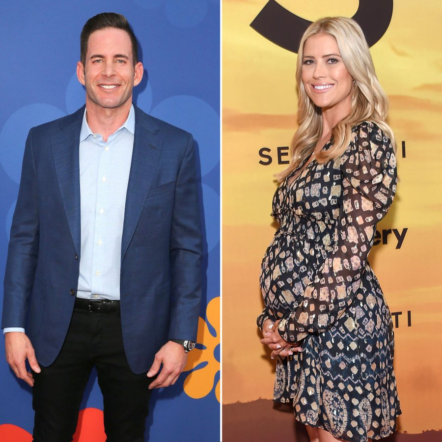 Tarek El Moussa and Christina Anstead Baby Pregnant Movember