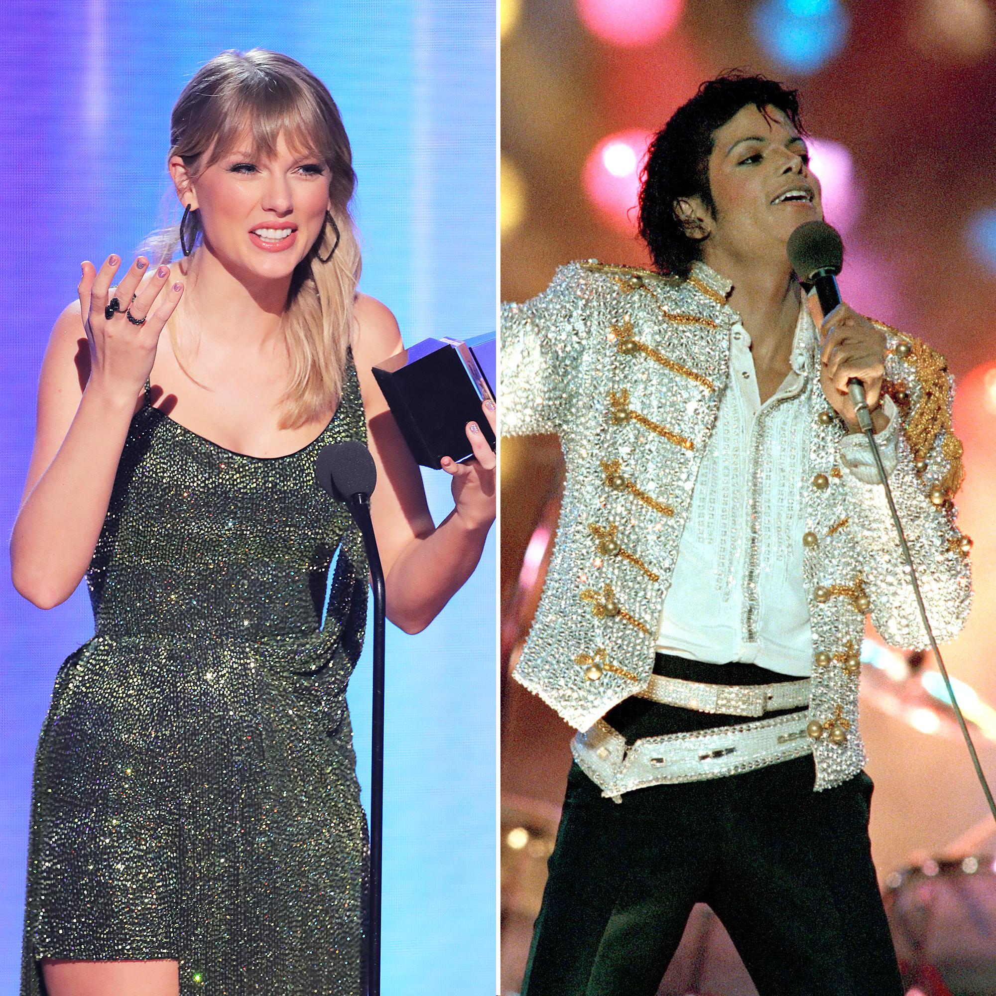 Taylor Swift Breaks Michael Jacksons Record AMAs 2019
