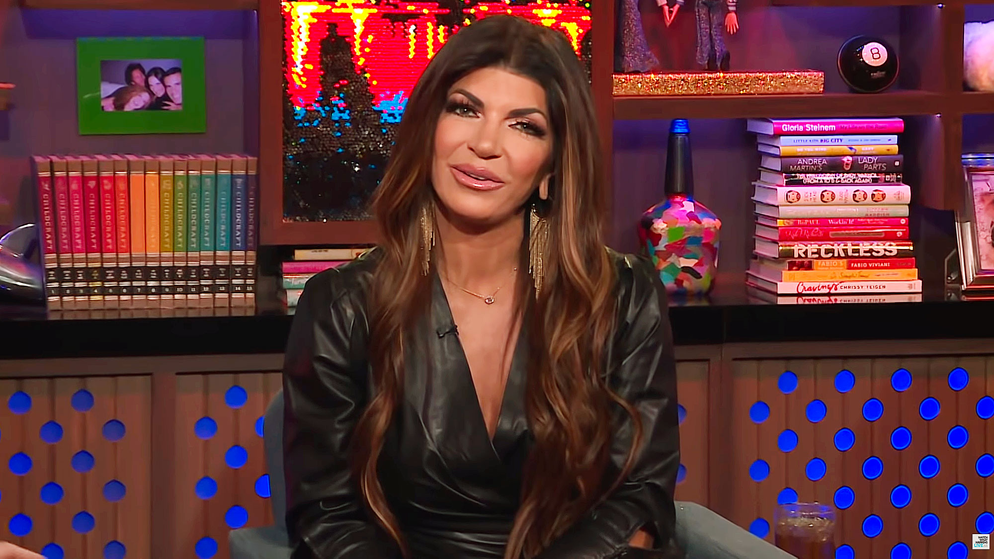 Teresa Giudice Talks About Visiting Joe in Italy on WWHL