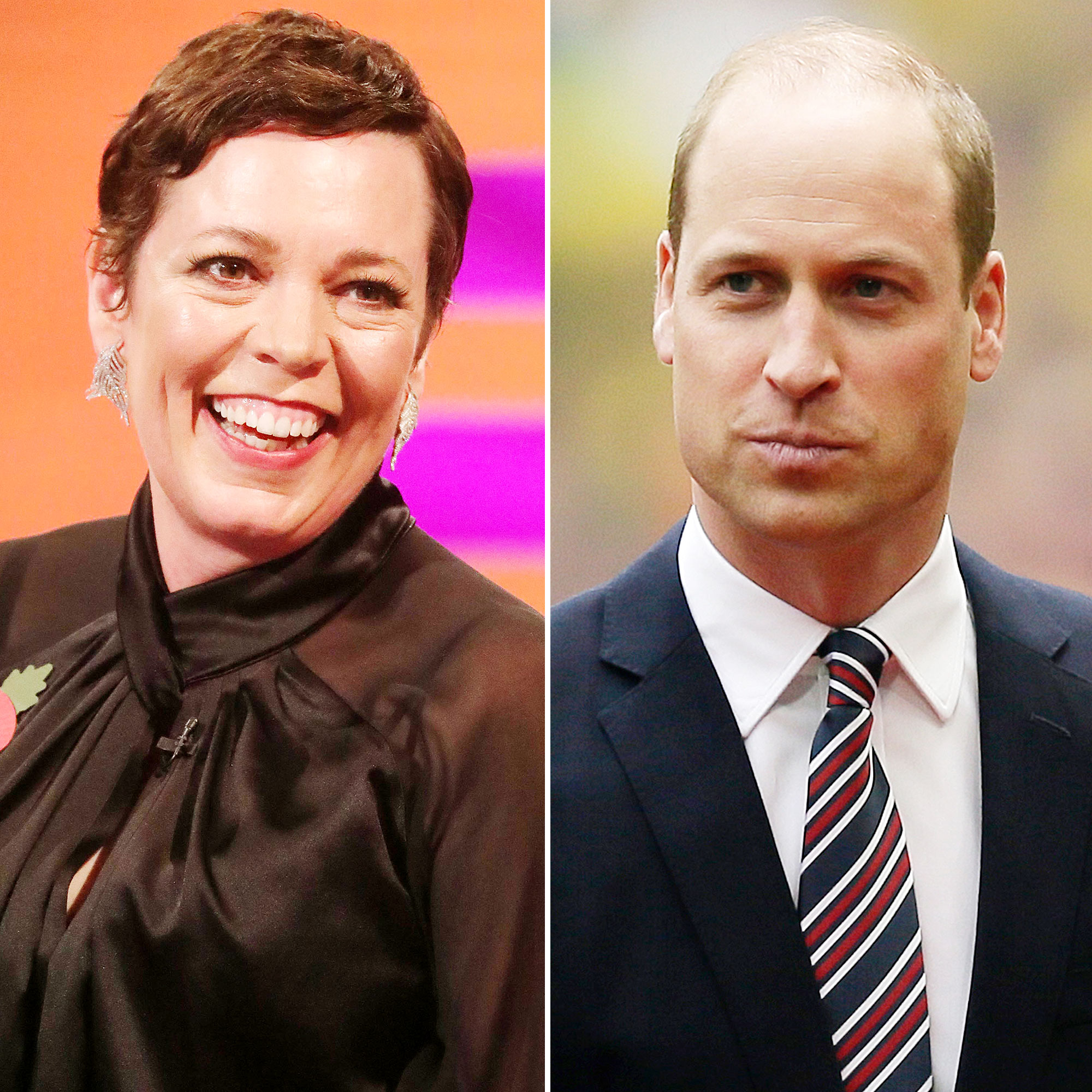 The Crowns Olivia Colman Says Her Chat With Prince William Didn't Go Over Well