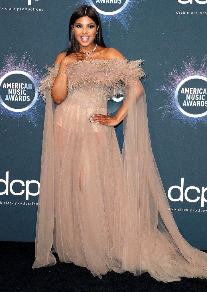 Toni Braxton 2019 AMAs No Engagement Ring