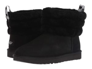 UGG Fluff Mini Quilted (Black)