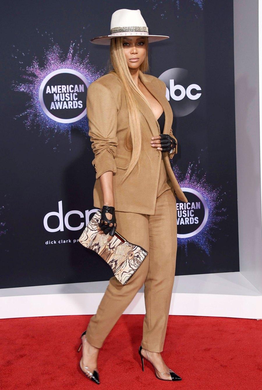 Wackiest AMAs 2019 Looks - Tyra Banks