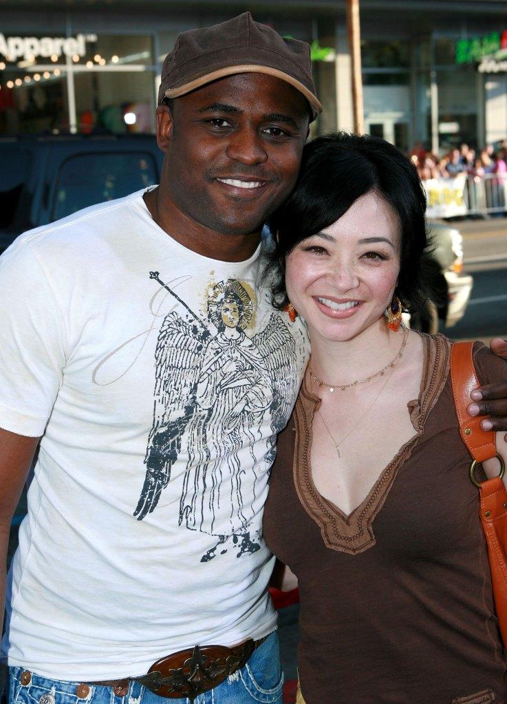 Wayne Brady and Mandie Taketa