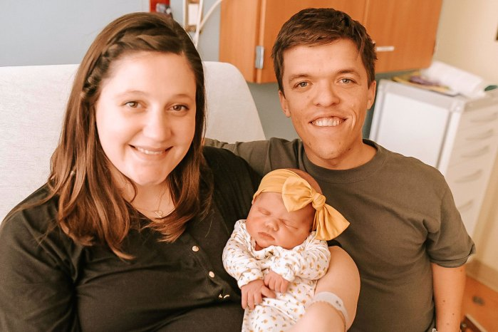 Zach Roloff and Tori Roloff Hold Newborn Baby Lilah Ray Roloff