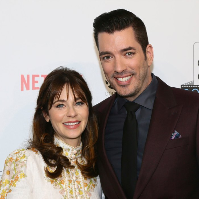 Zooey Deschanel and Jonathan Scott Share Flirty Comments After 'Perfect Date Night'