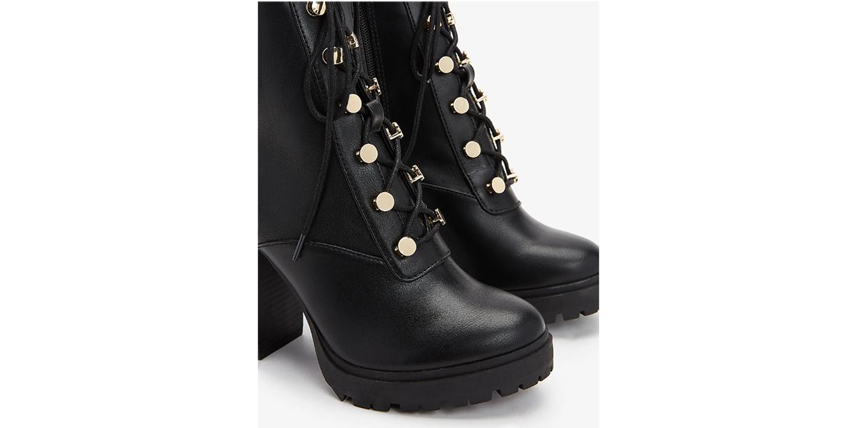 High-Top Lug Boots