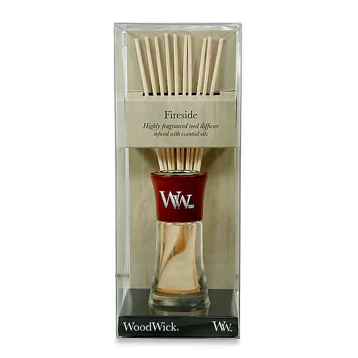 WoodWick Fireside Small Reed Diffuser