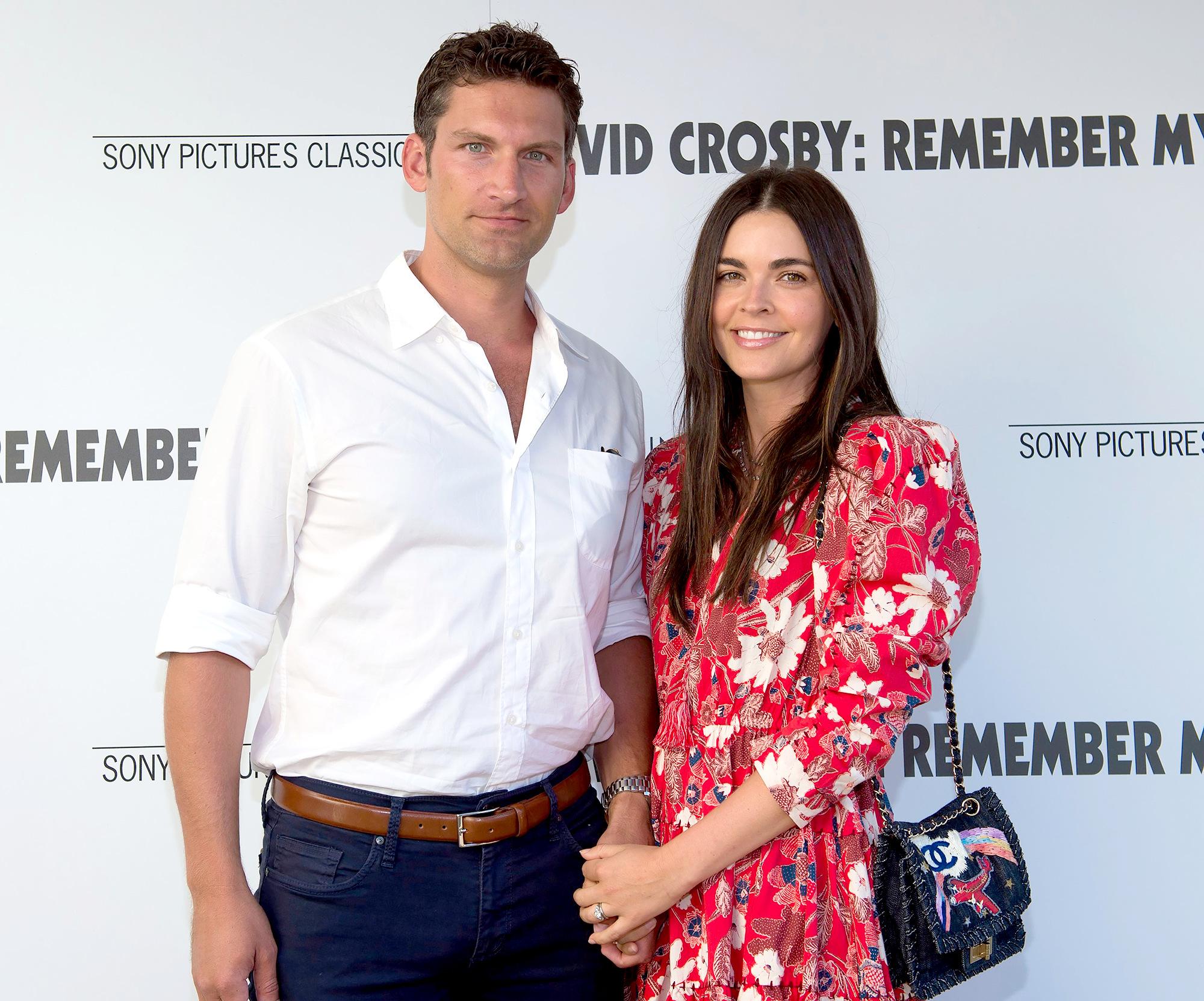 Ryan Biegel and Katie Lee
