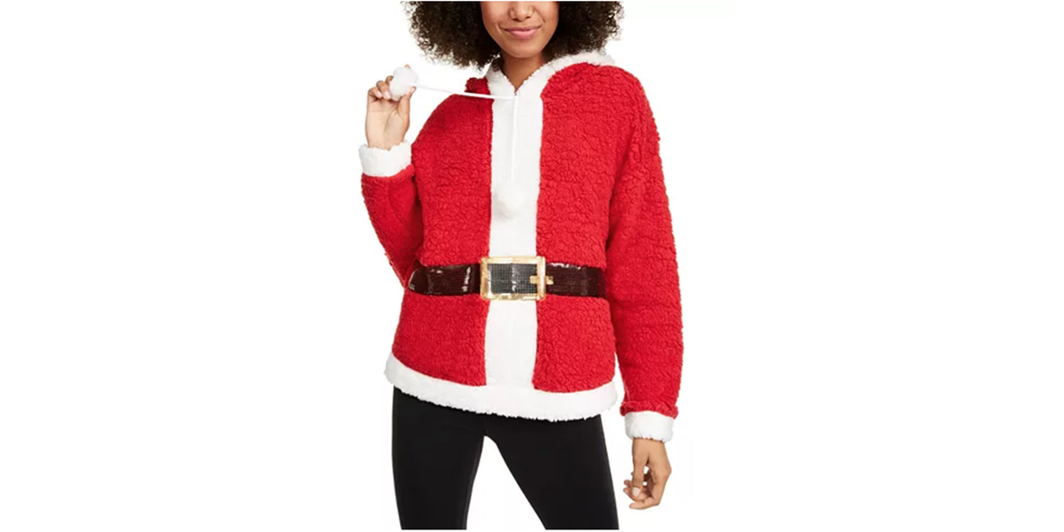 Hooked Up by IOT Juniors' Santa Hoodie