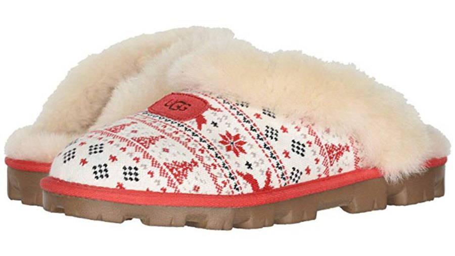 UGG Zappos 20th x Holiday Sweater Slipper