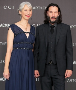 Keanu Reeves' Girlfriend Alexandra Grant Explains Why She Stopped Dyeing Her Prematurely Gray Hair