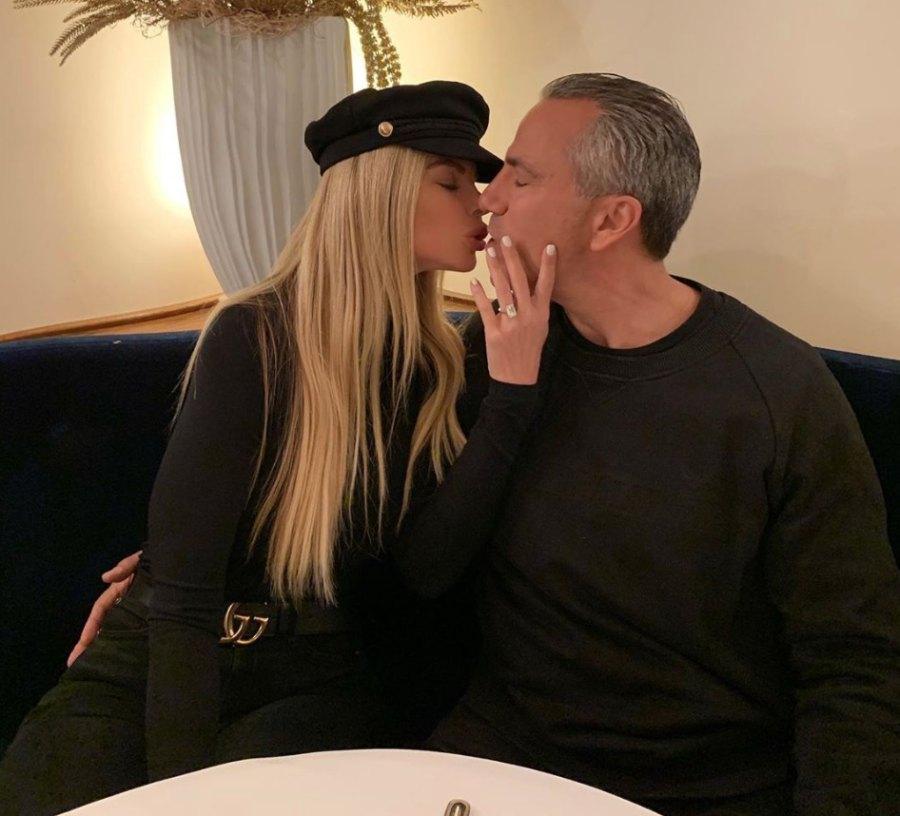 Alexia Echevarria and Todd Nepola engaged