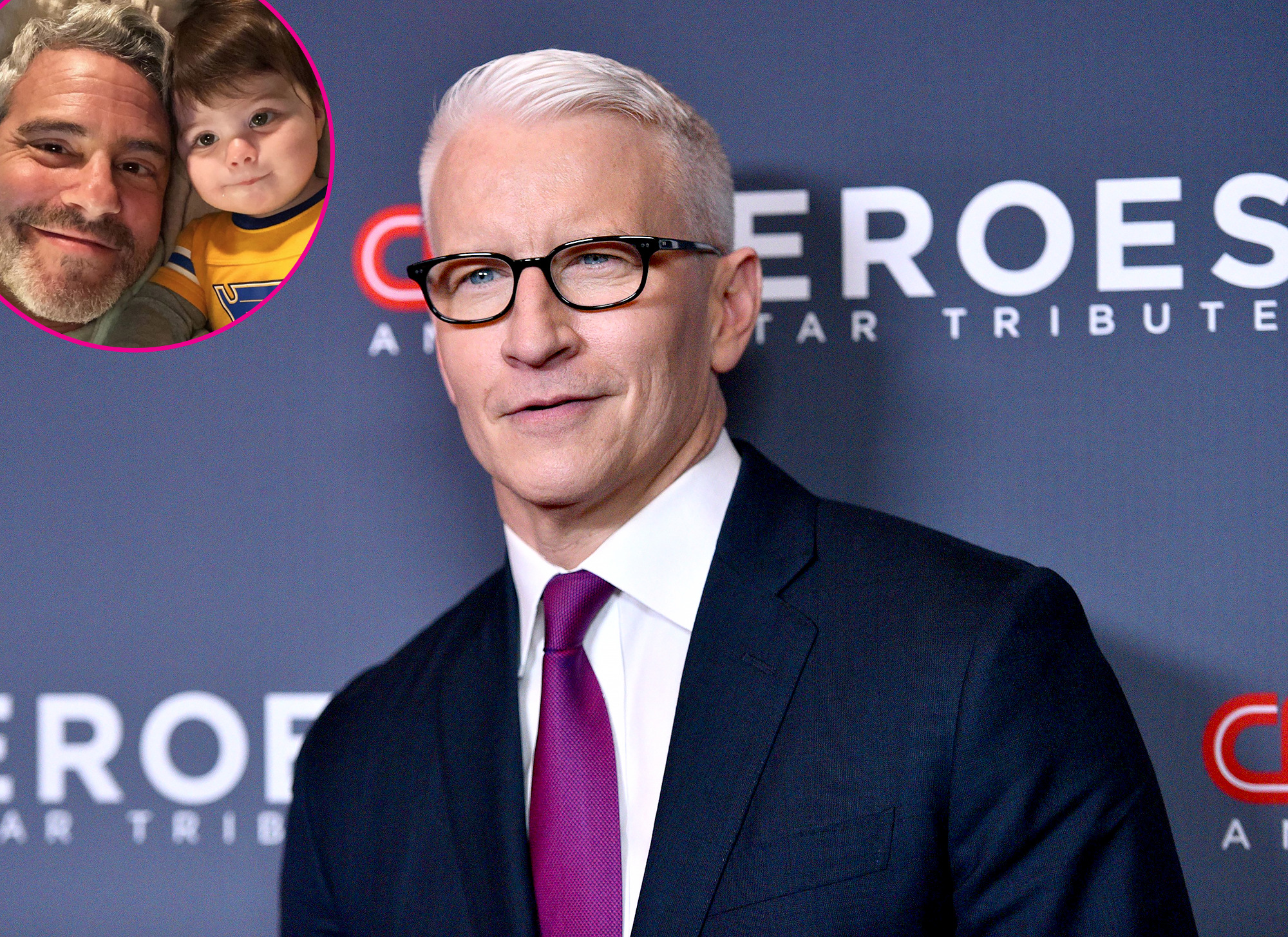Anderson Cooper Says Friend Andy Cohen's Son Is the 'Greatest Kid'