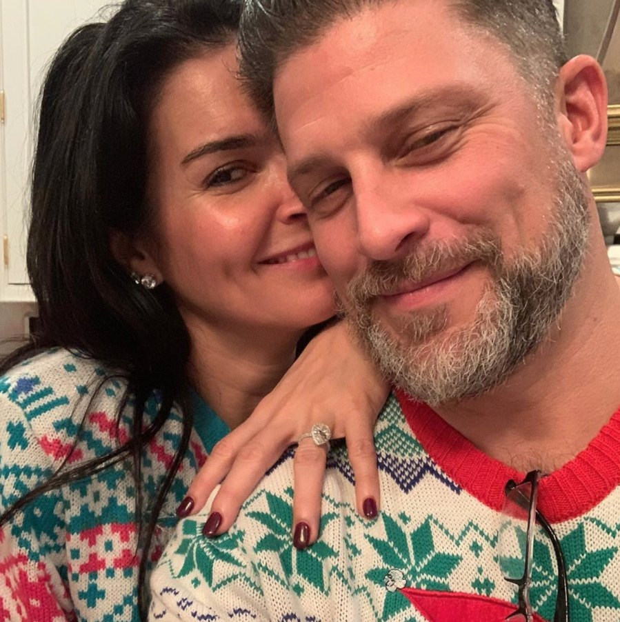 Angie Harmon and Greg Vaughan Are Engaged