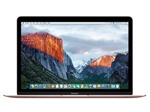 Apple MacBook (Mid 2017) 256GB 12 Laptop (Rose Gold)