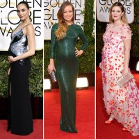 Baby Bumps at the Golden Globes