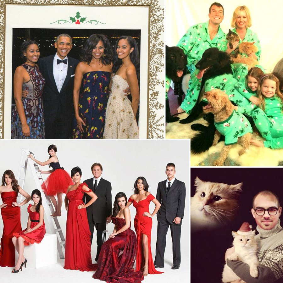 Best Celebrity Holiday Cards Through the Years