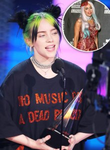 Billie Eilish Receives Serious Heat After Shading Lady Gaga's Meat Dress