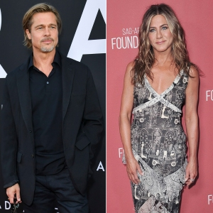 Brad Pitt Attended Ex-Wife Jennifer Aniston's Christmas Party