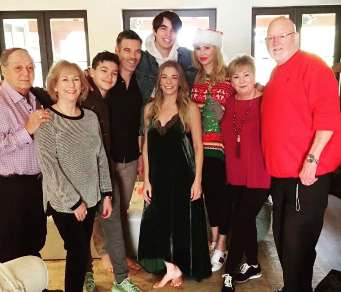 Brandi Glanville Enjoys Christmas With Ex Eddie Cibrian and LeAnn Rimes