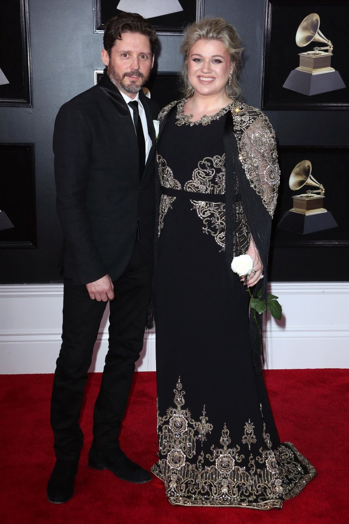 Brandon Blackstock and Kelly Clarkson 60th Annual Grammy Awards Christmas Present