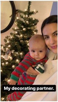 Breanne Racano Instagram Christmas Tree